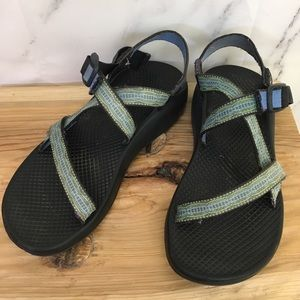 Chaco Z/1 Classic Sandals in Green